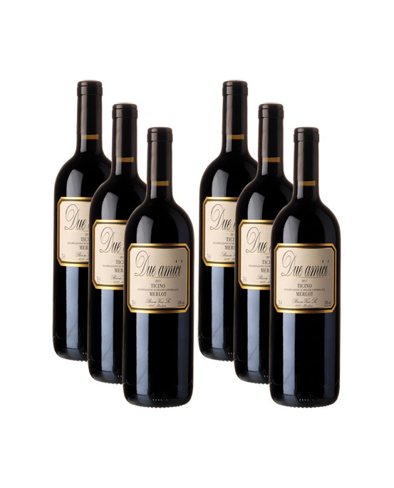 Guido Brivio, Merlot Due Amici, 6x 75 cl