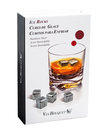 Ice Rocks Stainless Steel, Vin Bouquet