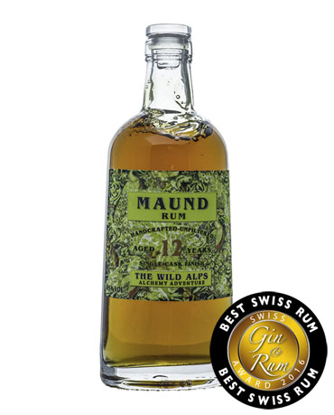 Wild Alps, Maund Rum 12 Years+, 50 cl