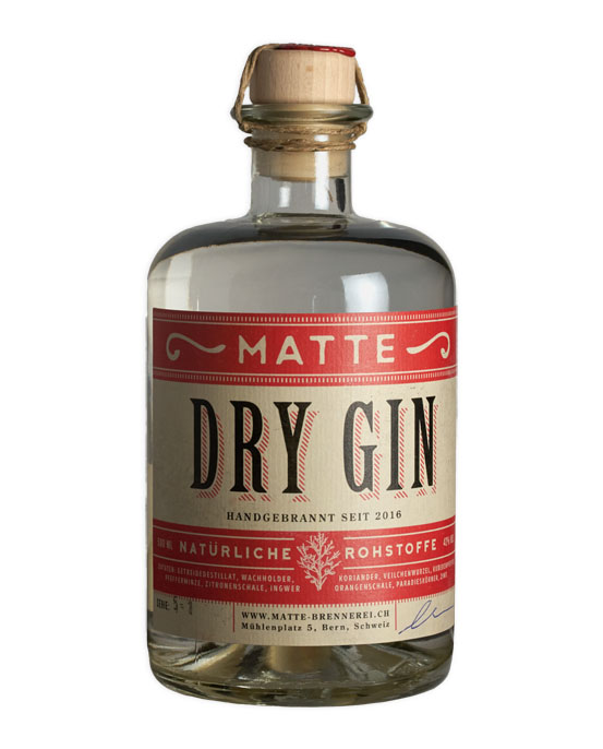 Matte, Dry Gin, 50 cl