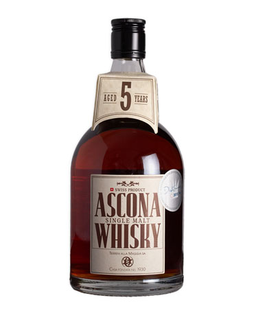 Ascona Whisky, Single Malt 5 Years, 70 cl